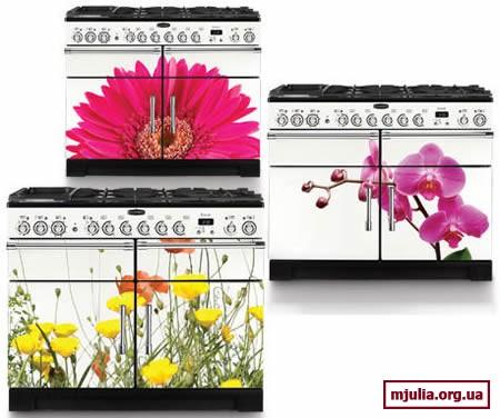 Цветочная коллекция кухонных плит от Rangemaster