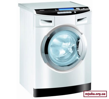 Стиральной машине Haier WasH20 не нужен порошок!