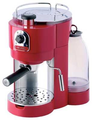 Ремонт и промывка кофеварки эспрессо.