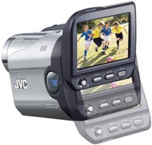 New JVC: видеокамера с дисплеем-слайдером