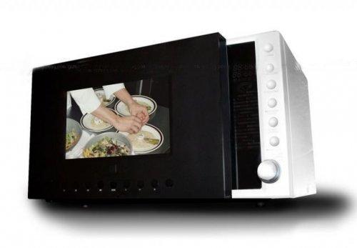 Микроволновая печь с TV и DVD