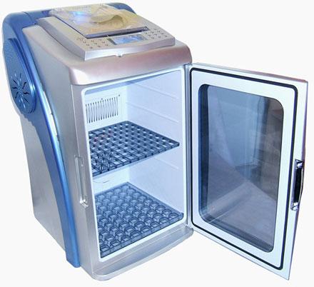 Холодильник-плеер с ДУ для молодёжи