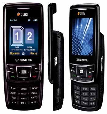 Телефон Samsung D880 DuoS оперирует двумя SIM-картами