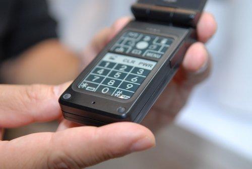 Концептуальный телефон с клавиатурой на основе технологии электтронных чернил