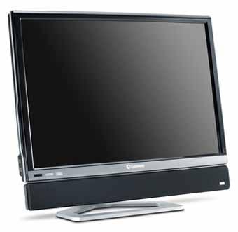 """Первый 30"""" ЖК-дисплей Gateway с поддержкой HDMI"""
