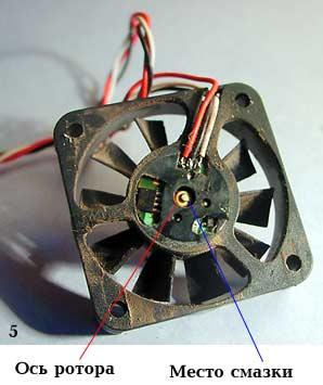 Шумит компьютер, чистка и смазка вентилятора
