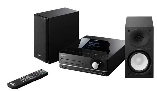 Sony- новая Fi-Hi аудиосистема с жестким диском GIGA JUKE NAS-E35HD.