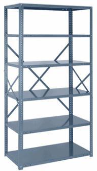 Стеллаж для дома как мебель - металлические архивные стеллажи заводского изготовления.